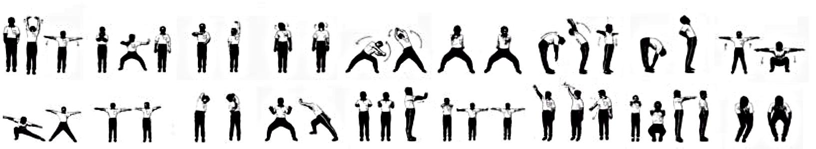 18 Lohan Hands Exercises